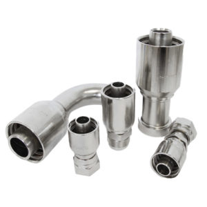 ONE-PIECE COUPLINGS FOR SPIRAL HOSE